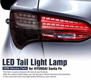 OEM Parts Tail Light LED Lamp LH Inside For HYUNDAI 2013 2014 2015 Santa Fe DM