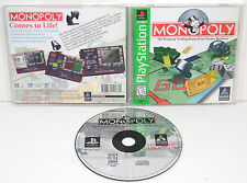 MONOPOLY (1998) SONY PLAYSTATION PS1 **COMPLETE**