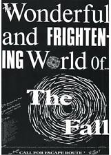 FALL  POSTER. Wonderful and Frightening World of the Fall. Mark E Smith.