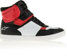 ALPINESTARS  LUNAR SHOES BLACK WHITE RED TG 10