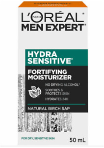 Loreal Face Moisturizer for men Hydra Sensitive Fortifying BRAND NEW