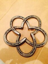 WESTERN RUSTIC RANCH COWBOY HOME DECOR Horseshoe Star Primative