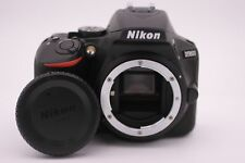Nikon D5600 24.2 MP Digital SLR Camera  -  Black (w/ AF-P 18-55mm VR Lens)