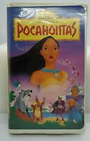 Pocahontas VHS 1996 Walt Disney Masterpiece TESTED