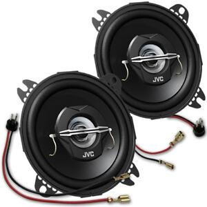 JVC CS-J 420 X - koax Lautsprecher Paar für Mercedes 190 W201 Armaturenbrett