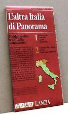 L'ALTRA ITALIA DI PANORAMA [carta stradale,Val d'Aosta Piemonte Liguria Lombard]