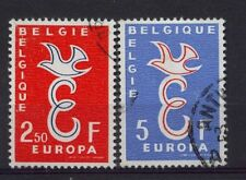 Belgium 1958 SG#1659-60 Europa Used Set