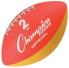 """Champion Sports Official Size Football Trainer Wf21 Football 11.5"""" x 6.5"""" x 6.5"""