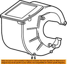 Dodge CHRYSLER OEM 99-03 Ram 3500 Van Evaporator Heater-Lower Housing 55036537