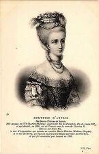 CPA Comtesse d'Artois-Née Marie-Thérése de Savoie Royalty Nobelty (314200)