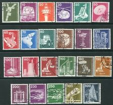 GERMANY BERLIN-1975 Industry & Technology Set Sg B478-91 VERY FINE USED V20041