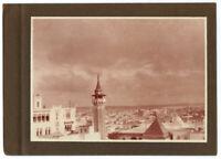 Foto Vintage Piktoralistische 1930 Rathaus Algerien - Druck Virage -gold -