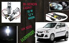 Bi-Xenon HID Kit H4 Size Hi-Low Beam 35W 6000K DIAMOND WHITE FOR ALTO K10 NEW