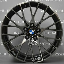 """GENUINE BMW M2 COMPETITION F87 788M 19"""" INCH BLACK SINGLE FRONT ALLOY WHEEL X1"""