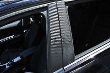 6x Tür leisten Zierleisten B Säule Verkleidung Folie Tuning Carbon schwarz F10