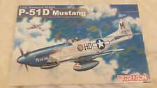 DRAGON 1:32 P-51D MUSTANG Fighter Aircraft Model Kit #3201 *SEALED BAG*