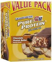 Pure Protein Bars, High Protein, Nutritious Snacks to Support Energy, Low Sugar