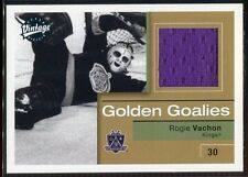 2001-02 Upper Deck Vintage Jerseys RV Rogie Vachon Jersey Golden Goalies