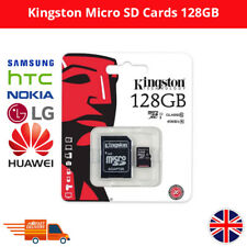 KINGSTON MICRO SD 128GB 45MB/s MEMORY CARD WITH ADAPTER FOR SAMSUNG NOKIA HUAWEI