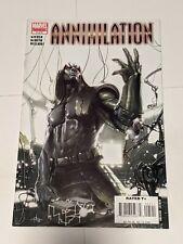 Annihilation #5 January 2007 Marvel Comics Nova Silver Surfer Giffen Divito