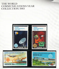 Kenya 1983 Communication set of 4 stamps. SG 280-83  MUH. Scarce and going cheap