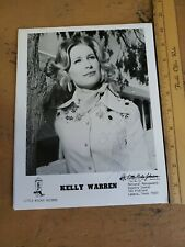 Vintage Autographed Country Artist Photo Kelly Warren Little Richie Records