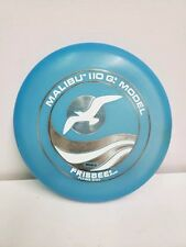 VIntage Wham-O Frisbee Flying Disc, Malibu 110G Model  Blue Seagull, 1975