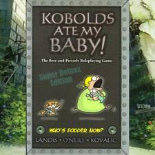 Kobolds Ate My Baby (RPG) Super Deluxx Edition. Comedy Roleplaying Game HB