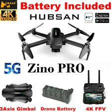 HUBSAN Zino PRO 4K FPV Drone 5G WIFI APP Quadcopter RTF W/ 3Axis Gimbal+Battery