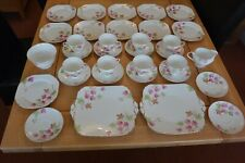 FOLEY ENGLISH BONE CHINA TEA SET. 34 PIECES IN TOTAL