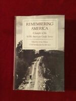 Remembering America: A Sampler of the WPA American Guide Series  Hardcover Coll