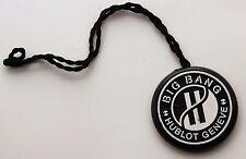 HUBLOT watches genuine BIG BANG vintage black hang tag. Collectible accesory