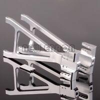SILVER ALUMINUM Rear LOWER Suspension Arm FOR TRAXXAS 1/10 REVO 2.5 3.3 E-REVO