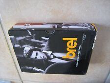 35092//JACQUES BREL COMME QUAND ON ETAIT BEAU COFFRET 3 DVD EN BE