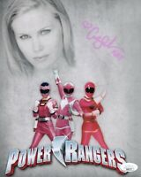 CATHERINE SUTHERLAND Signed POWER RANGERS 8x10 Photo In Person Autograph JSA COA