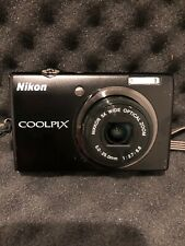 Nikon COOLPIX S570 12.0MP Digital Camera - Black Tested Works Great No Charger.