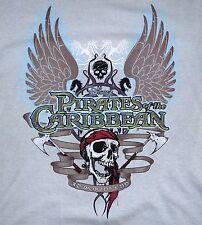 Neu cooles Disney T-Shirt Pirates of the Caribbean grau Gr.S 100% Baumwolle