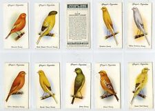 Full Set, Players, Aviary & Cage Birds 1933 VG+ (Gb1849-290)