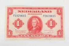 "Billet d'invasion ""Nederland"" US WW2 (matériel original)"