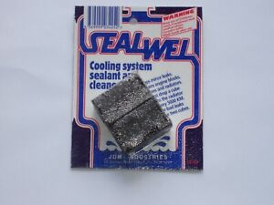 Sealwel cooling system cleaner and sealant T5102 2 cube pack