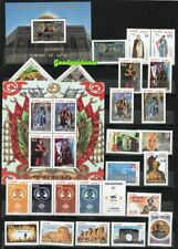 2019 - Tunisia - Full year 37 stamps + 4 blocks + 3 officials postcards - MNH**