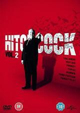 ALFRED HITCHCOCK Collection 7 Films DVD VERTIGO THE BIRDS MARNIE NEW EXTRAS !