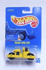 HOT WHEELS NO. 55 ROAD ROLLER NEW ON BLUE CARD