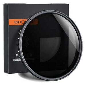 ND2-400 lens ND Filters 67mm K&F CONCEPT Neutral Density variable nd filter 67mm