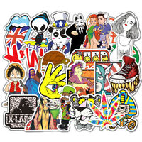200 Random Skateboard Stickers bomb Vinyl Laptop Luggage Decals Dope Sticker Lot