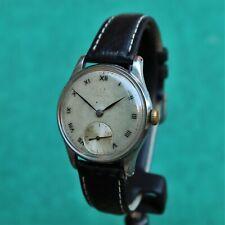 OMEGA Steel Military 1940s Vintage Watch 26.5 T3 Reloj Montre Orologio Uhr Swiss