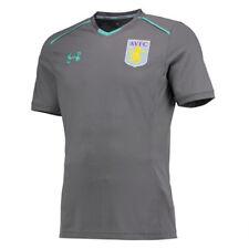 Under Armour Aston Villa FC Kid's 2017/18 Training T-Shirt - Various Sizes - New