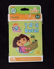LeapFrog Tag Junior Nickelodeon Dora the Explorer 1-2-3 DORA! Learning Book