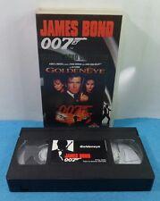 VHS CLASSIC JAMES BOND 007 COLLECTION VINTAGE - GOLDENEYE