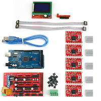 3D Printer Kit RAMPS 1.4+ Mega2560+ A4988+ 12864 LCD Controller For Arduino UE